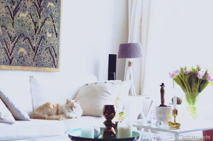 scandinavian bohemian, living room, interior decor, little house in utrecht