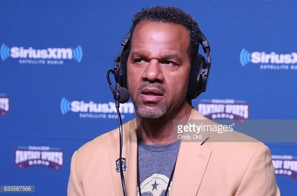News Photo : Former NFL player Andre Reed visits the SiriusXM...