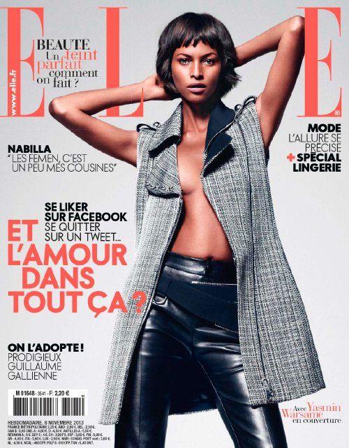 Yasmin Warsame (2013.11.08. Elle) #YasminWarsame