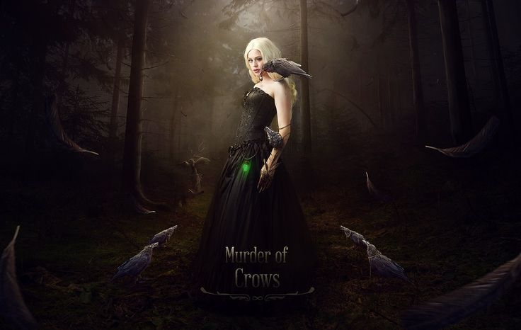 Photographe/Model: Fae  Story/Digital Art by Denis Fischer/Raven-Art High Resolution: http://www.corvus-ars.de/portfolio/murder-crows/
