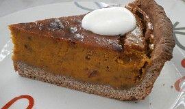 Pumpkin Pie (variace amerického dýňového koláče na Den díkůvzdání)