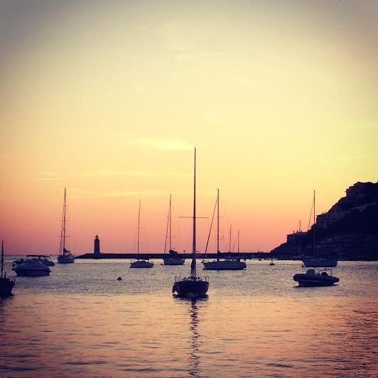 Sunset in Port de Andraxt - #mallorca #majorca