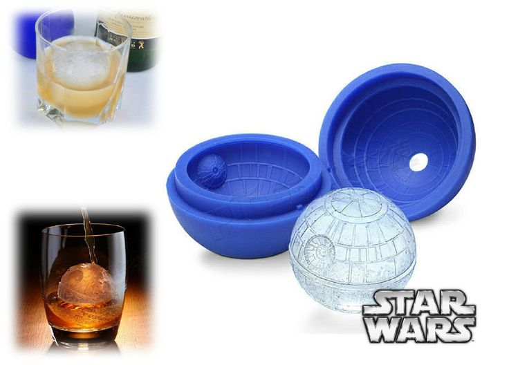 Ohio Printing Company - Always Creating!   Star Wars: Death ... find out more here: http://www.ohioprintingcompany.com/products/star-wars-death-star-ice-cube-mold?utm_campaign=social_autopilot&utm_source=pin&utm_medium=pin