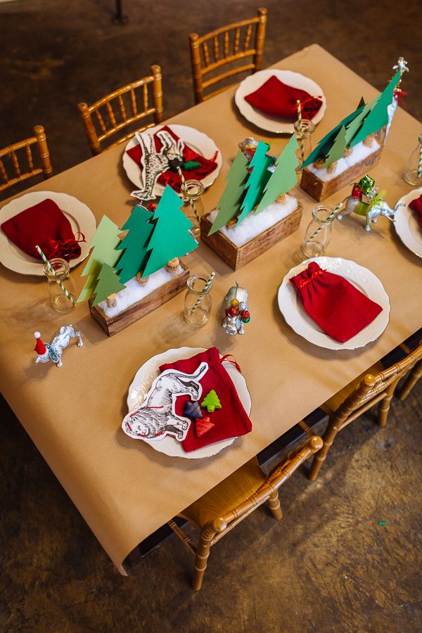 Holiday Kids Table – an interactive wonderland fueled with hot chocolate