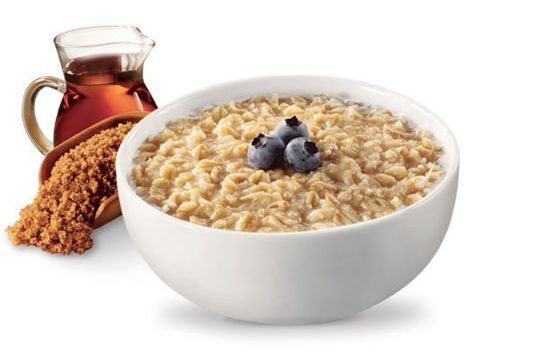 Nothing like a hot, steaming bowl of organic oats!