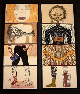 WSU Printmaking: The Exquisite Corpse will Drink the Young Wine