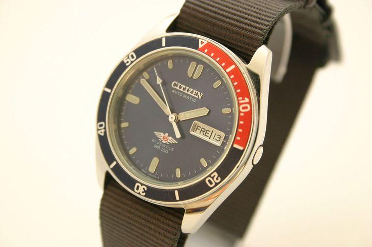 CITIZEN Herrenuhr im Diver / Taucheruhr Style - Pepsi Lünette - Automatic | Uhren & Schmuck, Armband- & Taschenuhren, Armbanduhren | eBay!