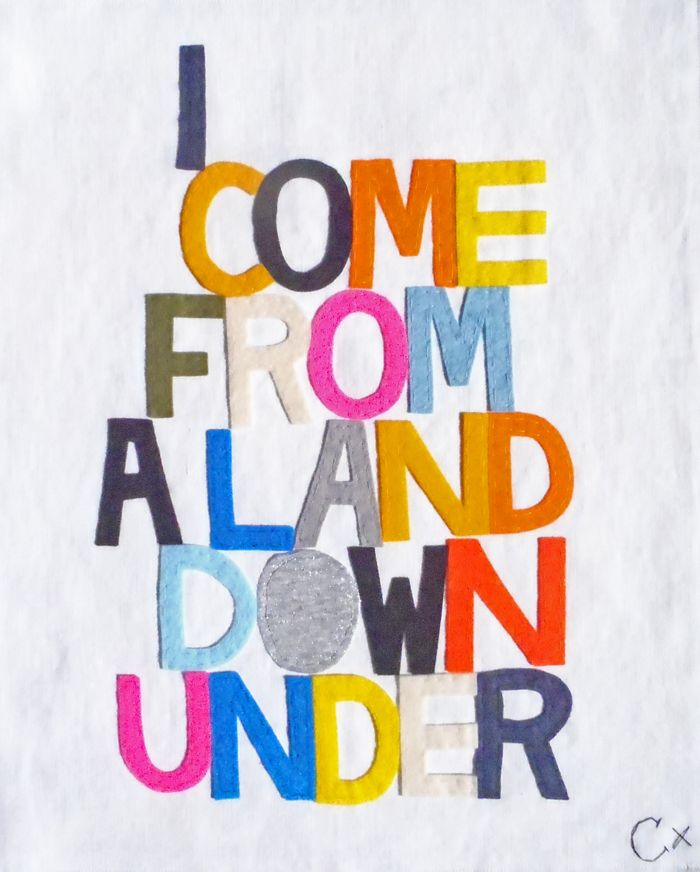 I COME FROM A LAND DOWN UNDER BIG-5