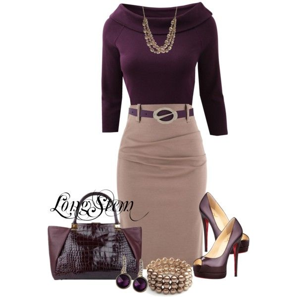 Untitled #457 – Plum // created by longstem on Polyvore