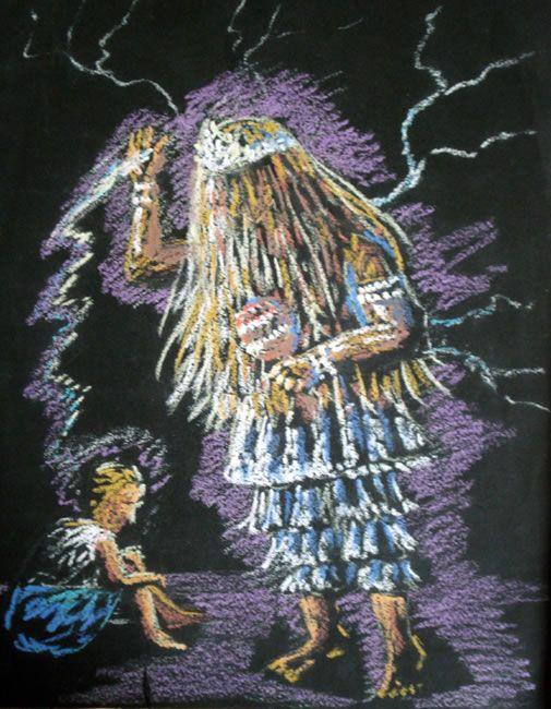 Atotô meu Pai Obaluae, Rei da calunga e Senhor da Terra.