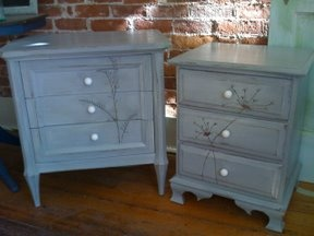 cute way to update old dressers