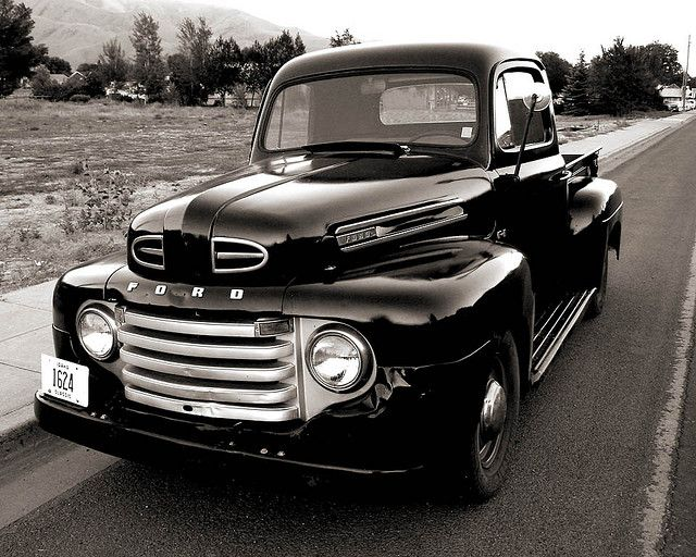 '49 Ford gotta love an old truck