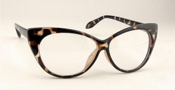 a238d4532a88d 3 choice! Vintage Cat Eyes Designed Fashion Eyeglasses, Glasses with Clear  Lens