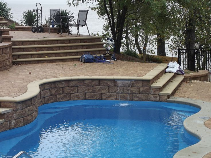 105 Best Freeform Style Fiberglass Swimming Pools Images On Pinterest Fiberglass Pools
