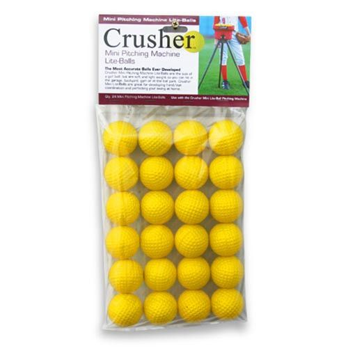 24 Pack Trend Sports Heater Crusher Soft Mini-Lite Balls CR15
