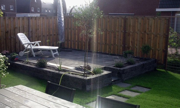 20 best images about tuin idee on pinterest terrace tes and tuin - Terras rand idee ...