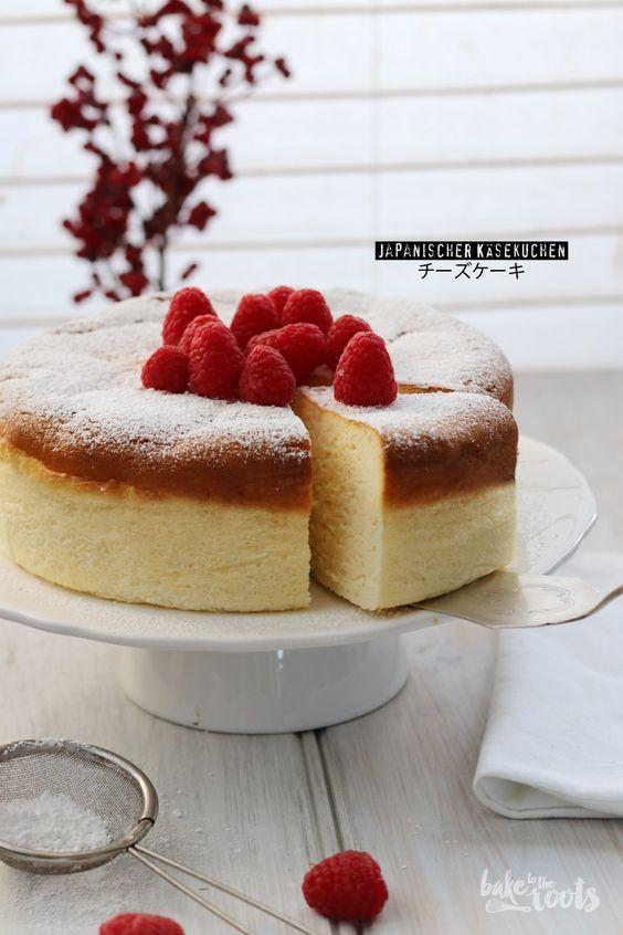 Als Alternative zum klassischen amerikanischen Cheesecake: Ein japanischer Käsekuchen