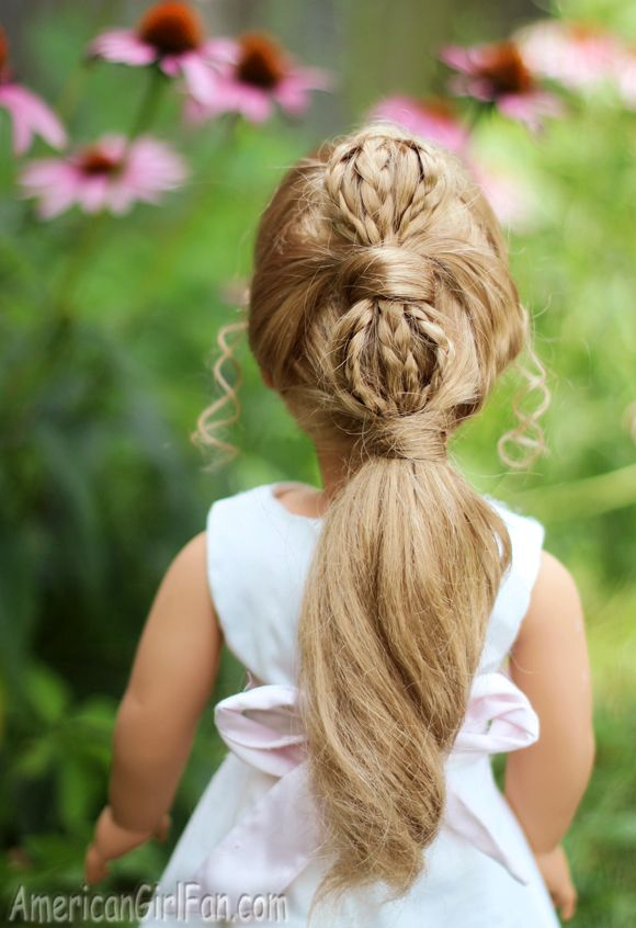 Doll Hairstyles Simple 129 Best American Girl  Hair Styles Images On Pinterest  American