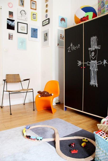 chalkboard cupboard