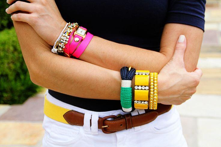 Accessories: Womens Fashion, Arm Candy, Fashion Forward, Summer Arm, Style Files, Arm Swag