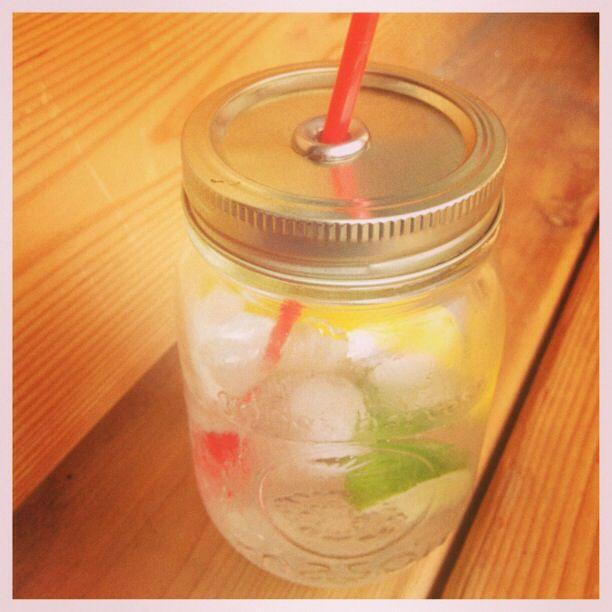 Mason jar to-go cup   Wilsonandlou.com