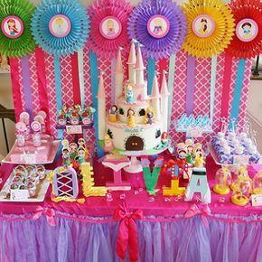 ideas para un cumpleaños de princesas disney