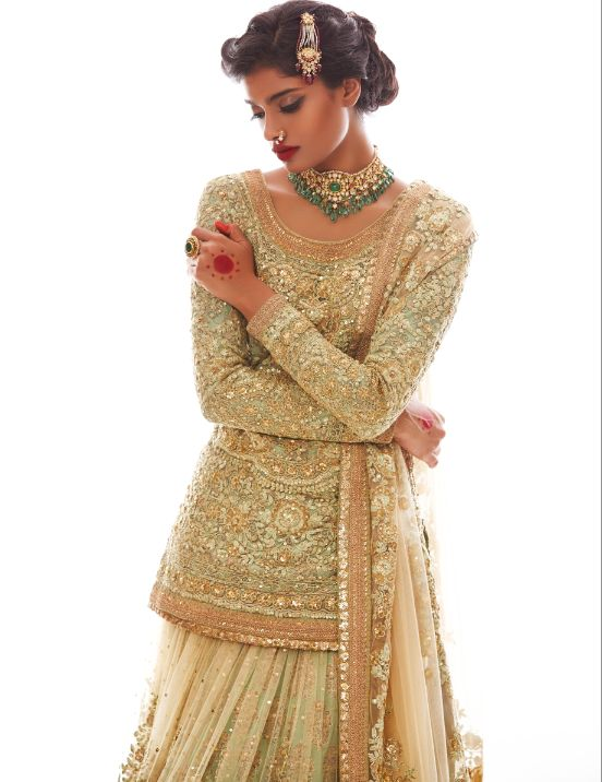 A beautiful bride styled by Nisha Kundnani of Bridélan - a premium personal shopper & styling service for brides & grooms. Write to us to book your appointment with the stylist, visit www.bridelan.com