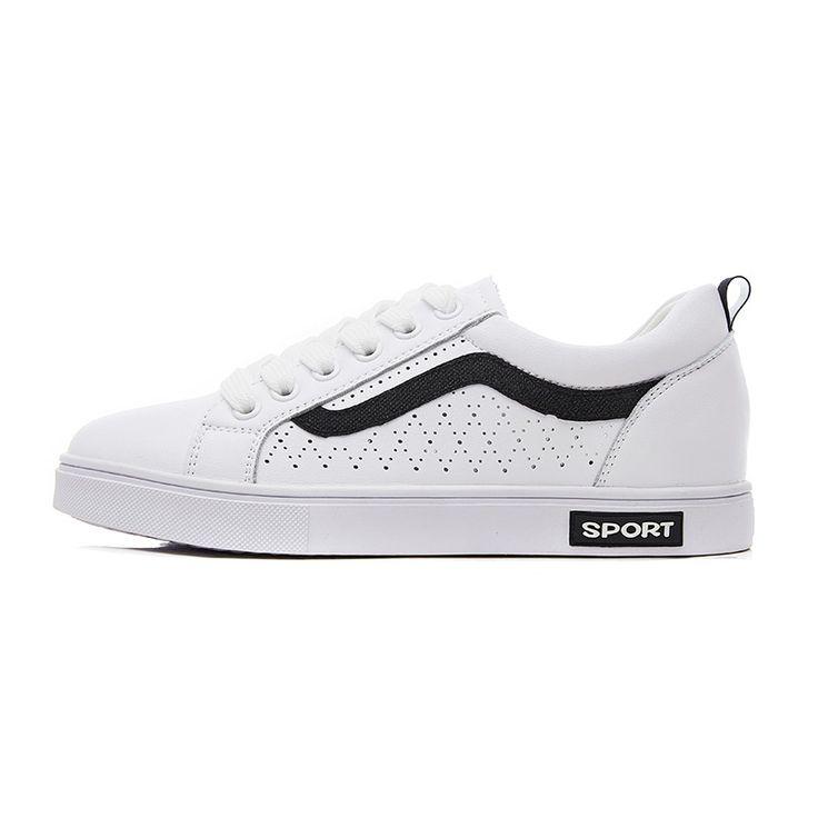 Aliexpress.com: Comprar Lobo que 2018 mujeres del resorte sneakers señoras blanco  Zapatos cuero