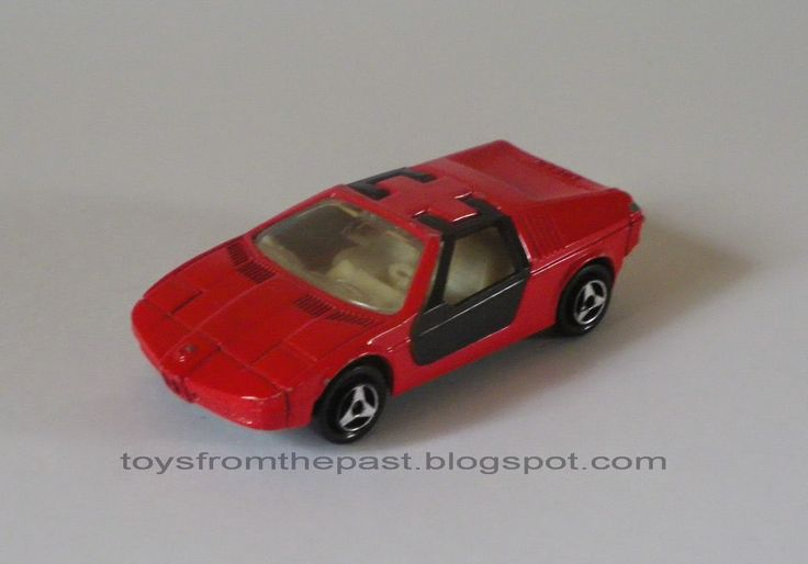 Toys from the Past: #438 MAJORETTE – BMW TURBO (Nr. 217) (1976, 1979 and 1983)
