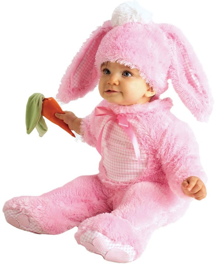 Products pink bunny infant costume