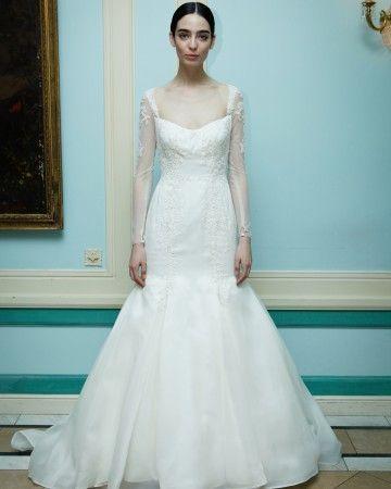 Truly Zac Posen Fall 2016 Wedding Dress Collection   Martha Stewart Weddings