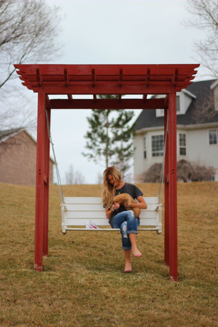 27 best Upcycled Yard Swings images on Pinterest Outdoor swings