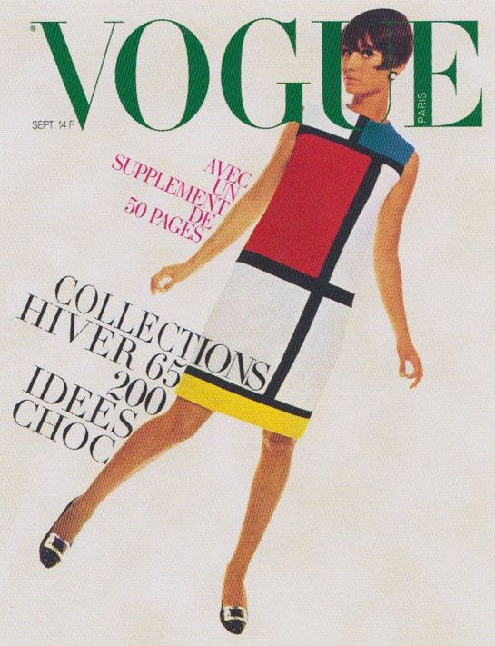Million & Associés will auction 425 vintage and modern pieces, including the legendary Yves Saint Laurent Mondrian dress, worn by Moyra Swan on the September 1965 cover of Vogue Paris, starting today.
