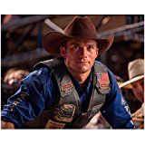 #USAshopping #10: Scott Eastwood 8 Inch x10 Inch Photo Gran Torino Fury The Longest Ride Brown Cowboy Hat Rodeo Vest Over Blue Shirt kn