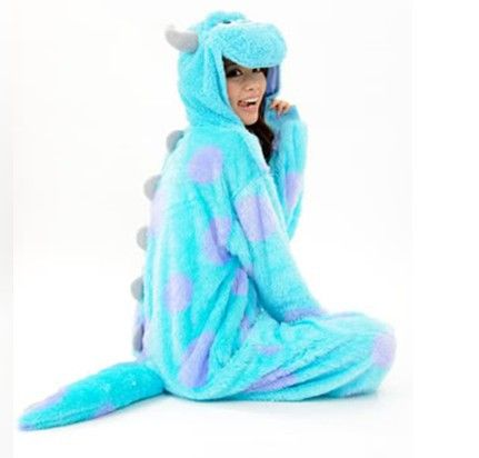 Cheap pajamas underwear, Buy Quality new pajama directly from China costume skirt Suppliers: New Adult Animal Onesie Monster's Sully Animal Cosplay Costume Pajamas 1. Product Show Time 2.&n