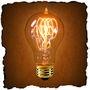 Not Energy Efficient, but so Beautiful: Edison Light Bulb | 1890 Reproduction - 40 Watt, Type A
