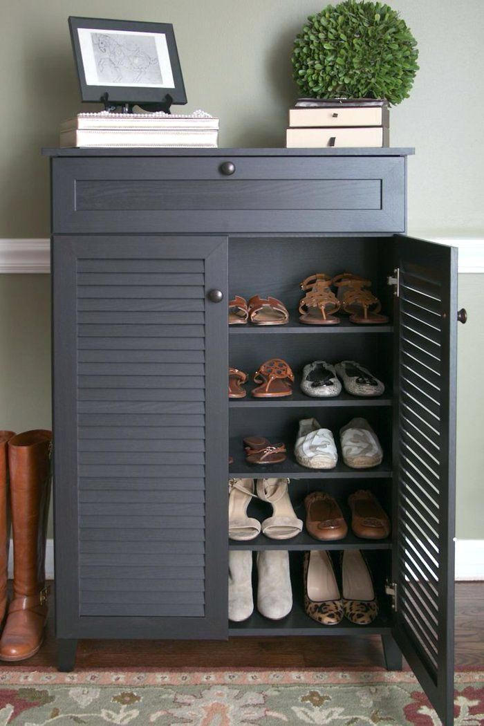 Pin By Cara Bravo On Home Sweet Home Shoe Storage Cabinet Entryway Large Shoe Rack Closet Shoe Storage