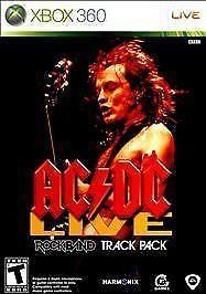 NEW Sealed AC/DC Live: Rock Band Track Pack Xbox 360 Game FREE SHIPPING