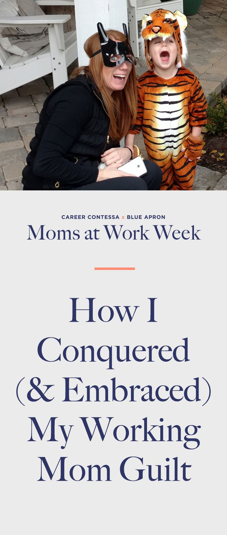 Blue apron quality auditor - How To Face And End Working Mom Guilt