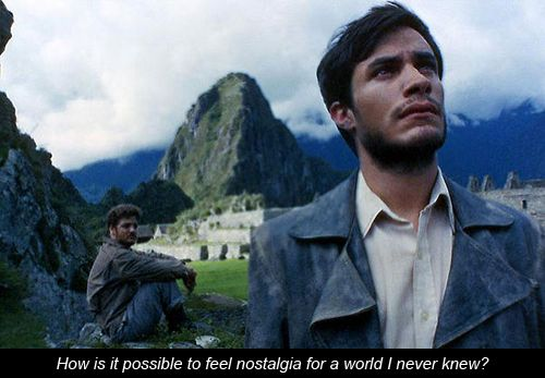 """The Motorcycle Diaries (2004) - """"How is it possible to feel nostalgia for a world I never knew?"""""""