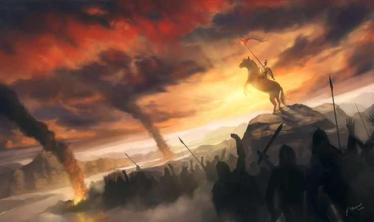 Воины Огонь Дым Армия