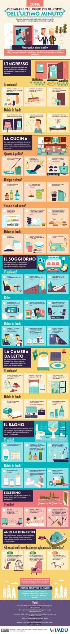 Come preparare la casa per gli ospiti all'ultimo minuto!  http://www.crealacasa.it/come-preparare-lalloggio-per-gli-ospiti.php