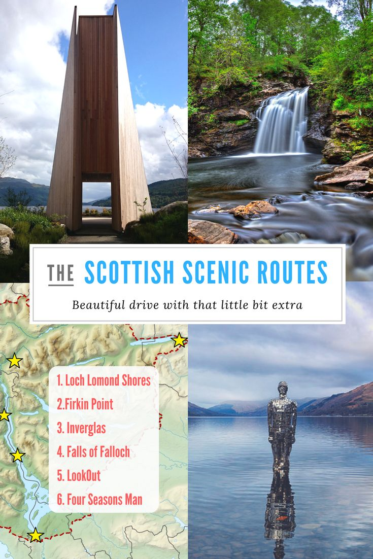 Scottish Scenic Routes around Loch Lomond