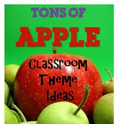 Apple Classroom Theme- Creative and cute ideas!