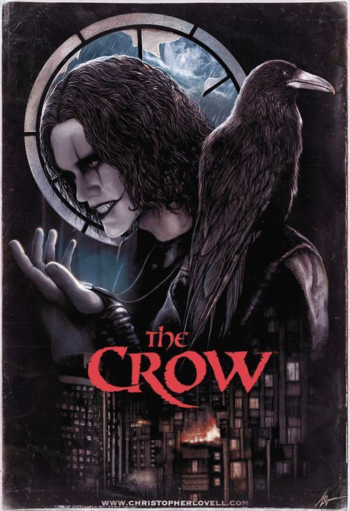 The crow by Christopher Lovell