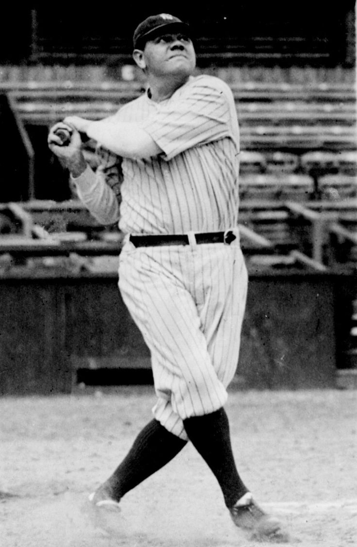 Babe Ruth's numbers will hold up forever. A career .342 hitter with 714 homers and 2,214 RBI, he earned his nickname, the Sultan of Swat.