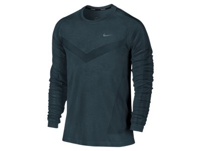 Nike Dri-FIT Knit Long-Sleeve Men's Running Shirt - 70