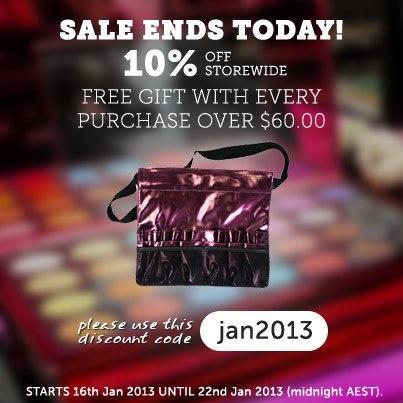 jan 2013 sale