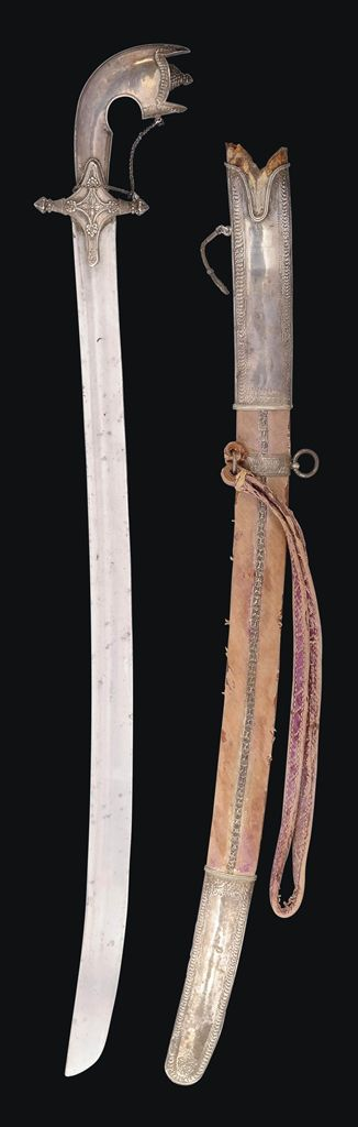 A SILVER-HILTED SWORD (NIMCHA) NORTH AFRICA, 19TH CENTURY | Christie's