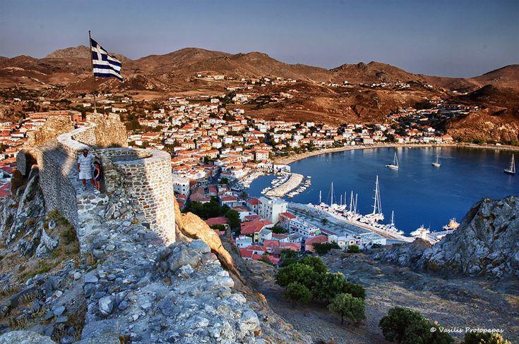GREECE CHANNEL  Myrina - Lemnos Island, Lesvos